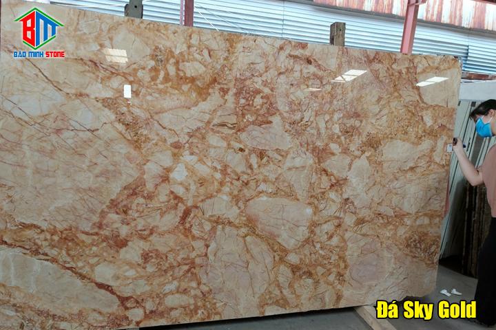 Một số mẫu đá Marble màu vàng được ưa chuộng nhất