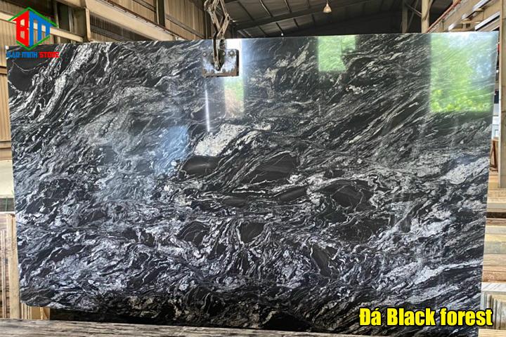 Đá granite đen đa dạng chủng loại