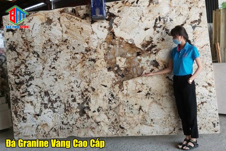 Ứng dụng của đá Granite vàng trong xây dựng