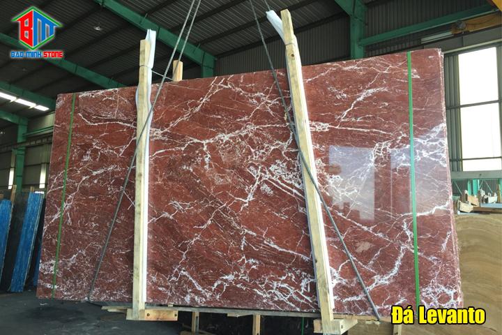 Một số loại đá Marble màu đỏ được ưa chuộng hiện nay