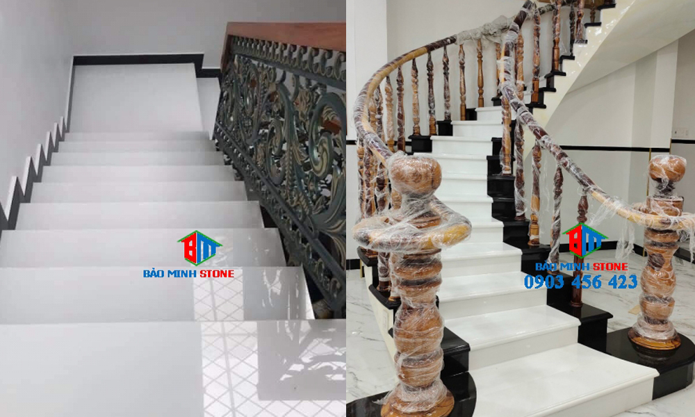 Màu sắc chọn đá ốp cầu thang phổ biến