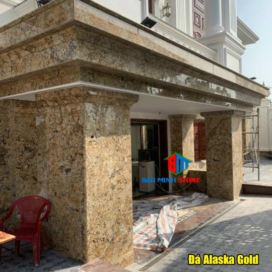 Mẫu đá Alaska màu vàng đẹp