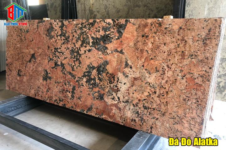 Các loại đá granite đỏ phổ biến hiện nay