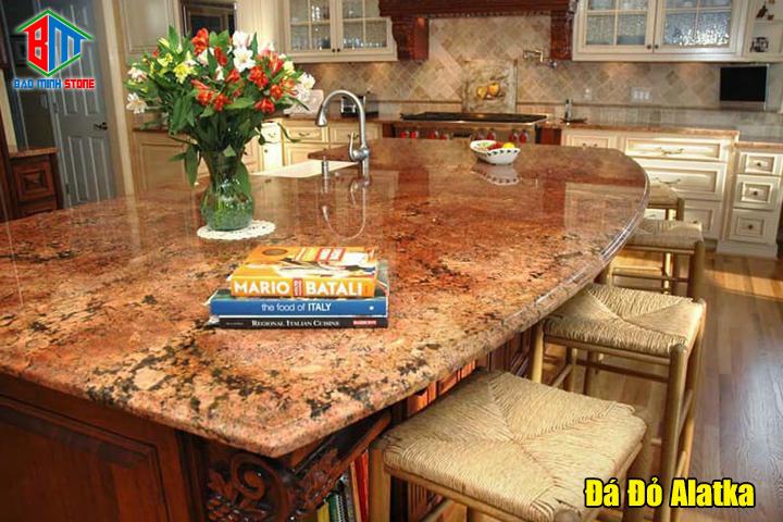 Ứng dụng của đá granite màu đỏ