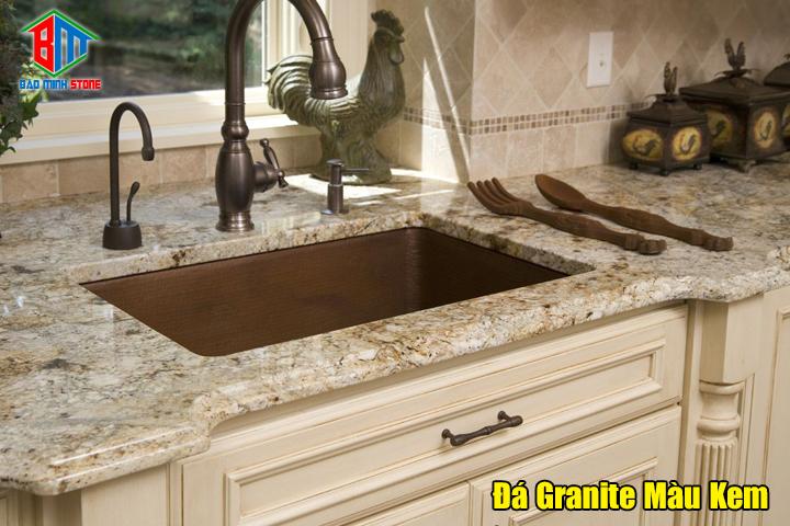 Một số lưu ý khi sử dụng đá Granite Màu kem